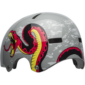 Bell Span Helmet viper dark gray/red